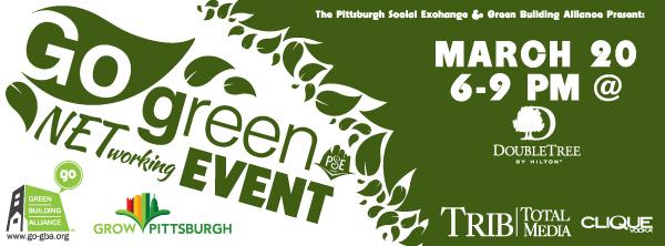Jason Ellwanger Creative Design | Go Green Networking Event ...